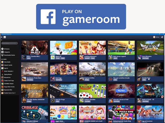 Facebook Gameroom - Facebook Gameroom Download | Facebook Games Free To Play